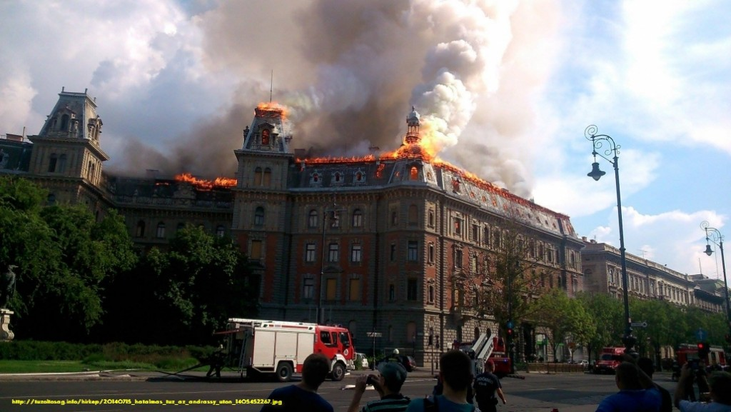 Andrássy úti tűz