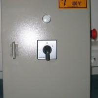 Reklám világítási elosztó IP 55 01 Állapot jelző, vész gomb, főkapcsoló, stb .